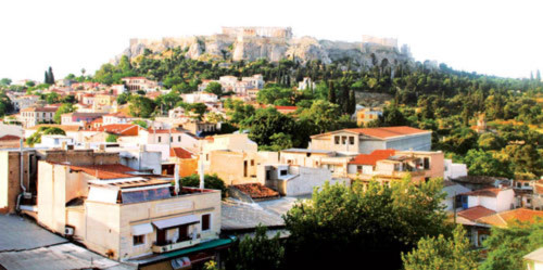 Khám phá kiến trúc đá cổ ở Hy Lạp - 1