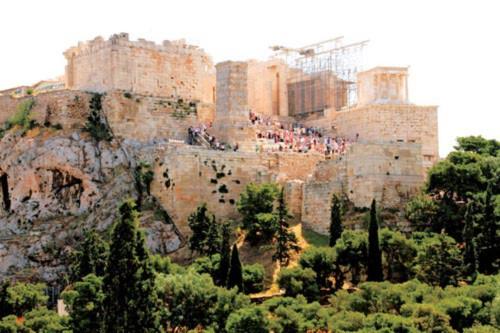 Khám phá kiến trúc đá cổ ở Hy Lạp - 2
