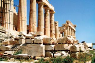 Khám phá kiến trúc đá cổ ở Hy Lạp - 4