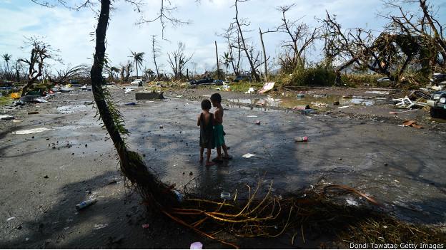 Hơn 10 triệu người Philippines bị ảnh hưởng bởi bão Hải Yến
