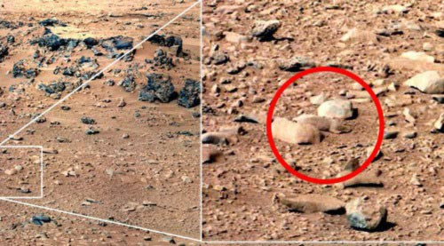 Sốc với 7 hình ảnh trên sao Hỏa - 2