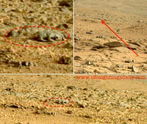 Sốc với 7 hình ảnh trên sao Hỏa - 3