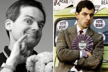 Ông Francois Brunelle và nhân vài hài kịch nổi tiếng Mr. Bean.