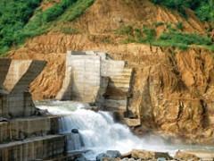Đập thủy điện Đakrông III bị vỡ đập năm 2012.