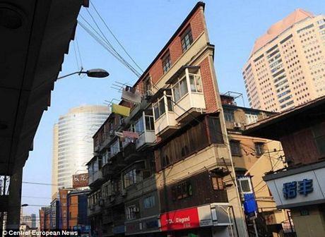 Ngôi nhà siêu mỏng ở Thượng Hải.