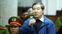 Nhân chứng Dương Chí Dũng tại phiên tòa - Ảnh: Doãn Tấn