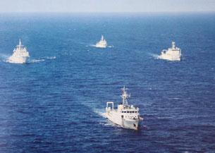 Thời gian gần đây Trung quốc đưa thêm nhiều tàu hải giám vào biền Đông Courtesy Sinodefence