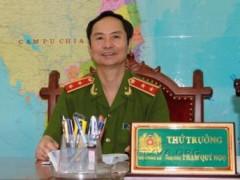 Thứ trưởng bộ Công an Phạm Quý Ngọ
