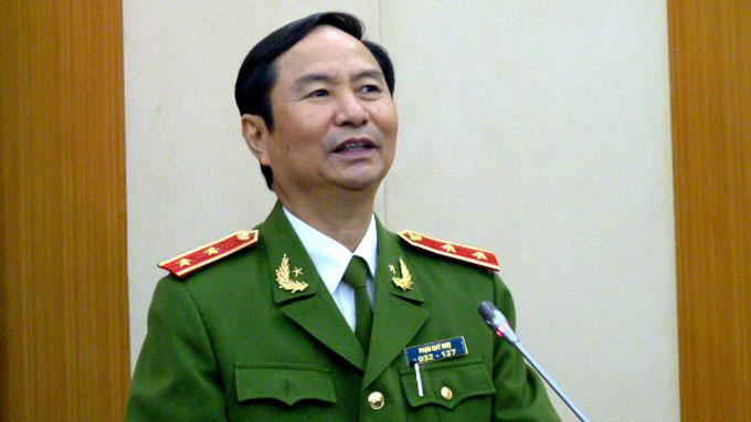 Thượng tướng Phạm Quý Ngọ - Ảnh: Q.H.