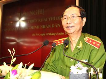 Thứ trưởng Bộ Công an Phạm Quý Ngọ, vừa qua đời ngày 18/02/2014. DR