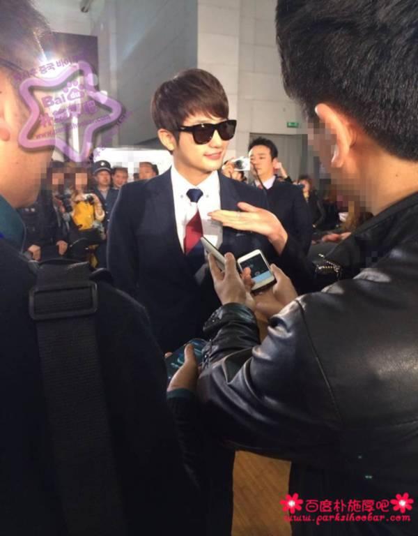 """Bị """"hắt hủi"""" ở Hàn, Park Shi Hoo được chào đón nồng nhiệt tại Trung Quốc 1"""