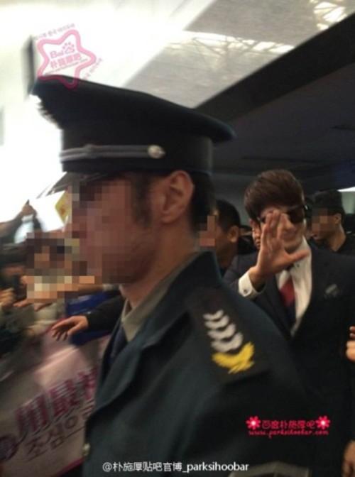 """Bị """"hắt hủi"""" ở Hàn, Park Shi Hoo được chào đón nồng nhiệt tại Trung Quốc 6"""