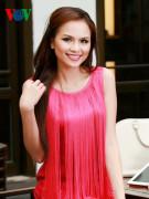 Hoa hậu Diễm Hương (ảnh: Quang Giang)