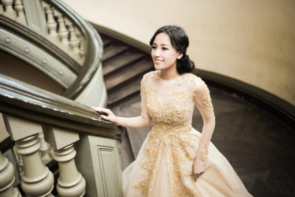Mai Phương Thúy lộng lẫy, xinh như công chúa trong bộ ảnh mới 4