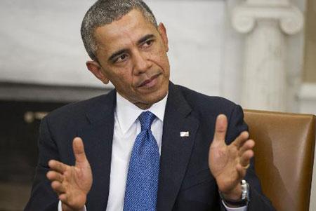 Tổng thống Obama dùng lời lẽ mạnh mẽ nhất chỉ trích Nga trong vấn đề Ukraine.