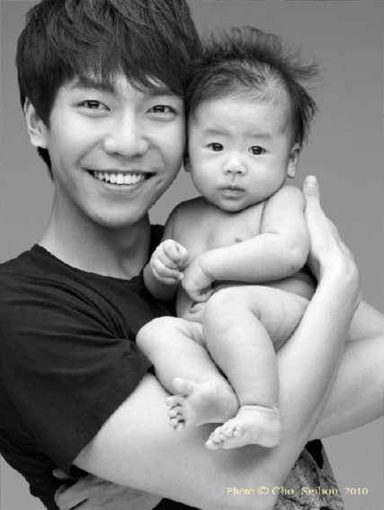 Top 5 mỹ nam Hàn sẽ là những ông bố tuyệt vời nhất 6