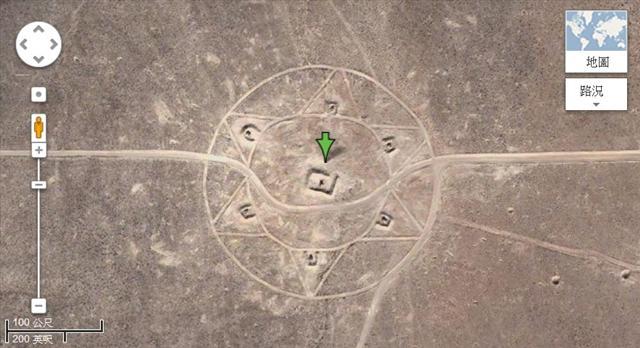 Nếu tìm kiếm cẩn thận trên Google Maps, chúng ta sẽ phát hiện ra nhiều hình thù kỳ lạ ở Nevada, Hoa Kỳ (tọa độ: 37,401573, -116,867808). (Ảnh chụp màn hình web Google Maps )