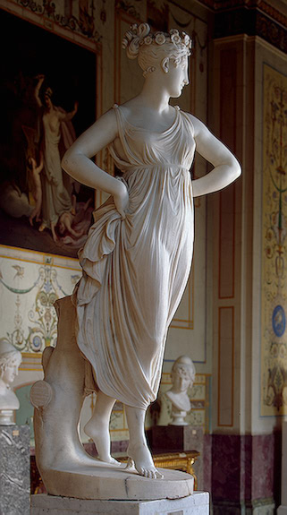 """Dancer."" Marble. Hermitage (St. Petersburg, Russian Federation)."