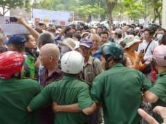 Một cảnh biểu tình chống Trung Quốc tại TP Hồ Chí Minh ngày 18/05/2014 Reuters