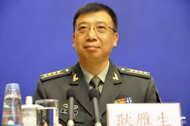 Người phát ngôn Bộ Quốc phòng Trung Quốc Cảnh Nhạn Sinh.
