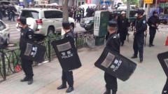 An ninh đang được thắt chặt ở Urumqi sau vụ nổ sáng 22/5 (Ảnh: AP)