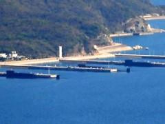 Tàu ngầm Trung Quốc có gắn tên lửa hạt nhân tại căn cứ Hải Nam - DR / Washington Free Beacon
