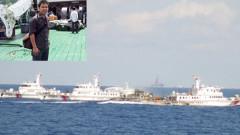 Tàu Trung Quốc gia tăng các hành động gây hấn, đe dọa, xịt vòi rồng vào các tàu  Việt Nam.