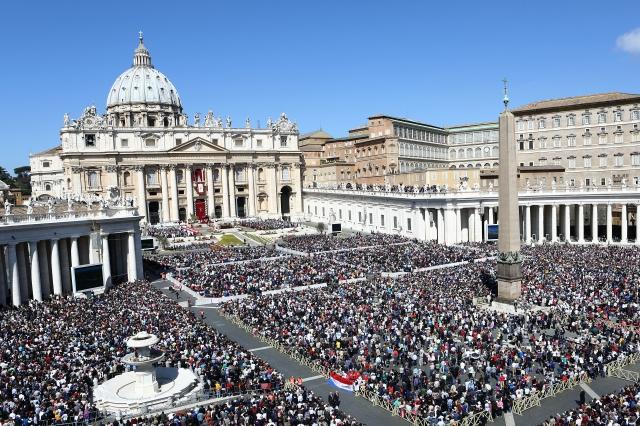 Quảng trường Thánh Phêrô Vatican(Getty Images)