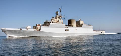 Hộ tống hạm chống ngầm tối tân INS Kamorta của Hải quân Ấn Độ