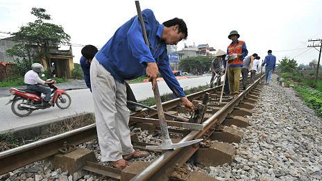 Nhiều dự án đường sắt ở Việt Nam sử dụng vốn ODA từ Nhật