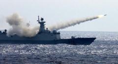 Tàu Trung Quốc tập trận trên biên đông