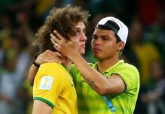 Luiz sau trận đấu với ĐT Đức (Ảnh: Getty Images).
