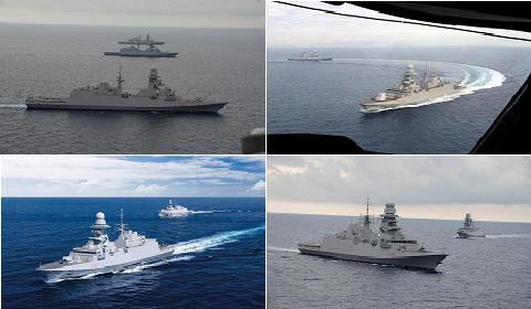 Khinh hạm FREMM của Pháp-Italia có khả năng phòng không mạnh