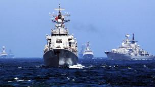 """Hải quân TQ là khách không mời vẫn lao vào tiệc để dự bữa ăn về tin tình báo"""" Báo Wall Street Journal"""