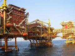 Một giàn khoan dầu của tập đoàn Ấn Độ ONGC (ảnh: en.wikipedia.org)