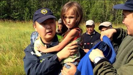 Một bé gái sống sót kỳ diệu sau 11 ngày trong rừng đầy chó sói và gấu