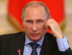 Russian President Vladimir Putin Holds A Government Meeting On Economy