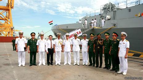 INS Shivalik là tàu hộ vệ hàng đầu của hải quân Ấn Độ