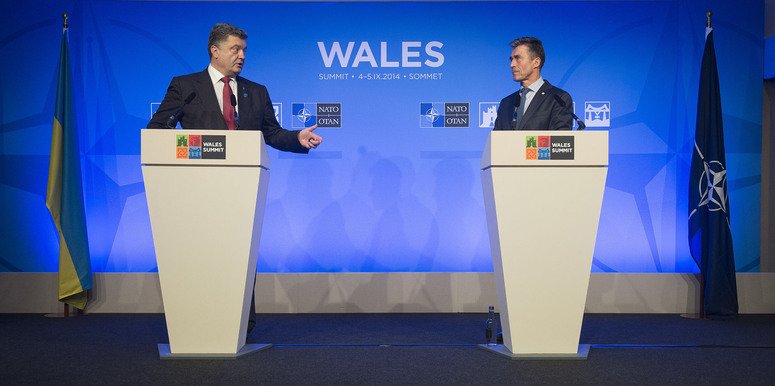 Joint press conference by the NATO Secretary General and the President of Ukraine - NATO Wales Summit