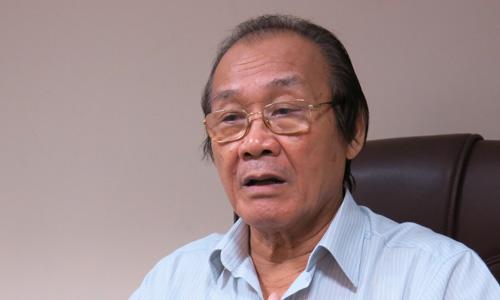 Ông Trần Công Trục cho rằng Trung Quốc đang lấy Gạc Ma làm mũi tiến công chính ở Biển Đông. Ảnh: Việt Anh