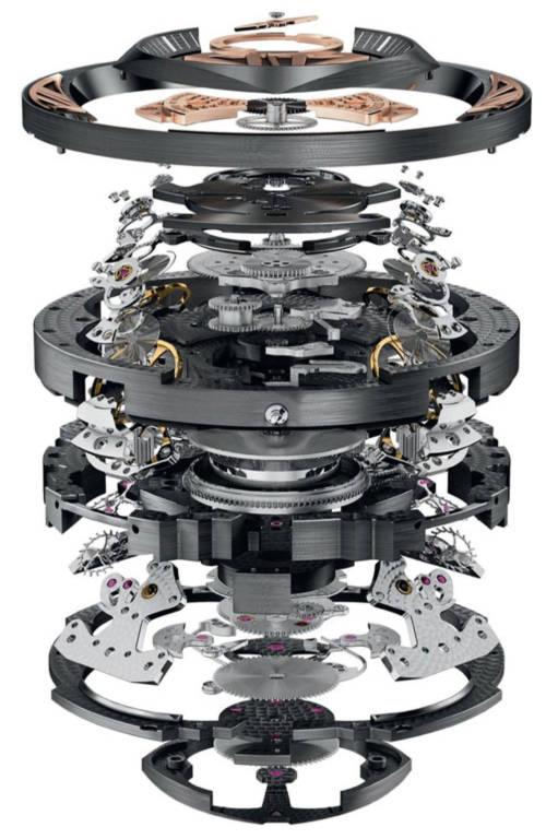 Excalibur Quatuor - Chiếc đồng hồ đắt nhất thế giới