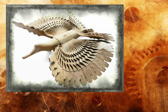 Ảnh một con chim gỗ. (Shutterstock*, hiệu ứng phụ trợ bởi Đại Kỷ Nguyên)