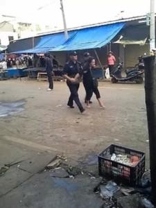 Trung Quốc, người dân, cảnh sát, báo động,
