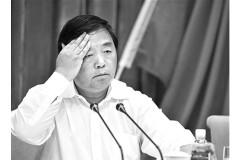 Vào ngày 17/12/2014, Viện Kiểm sát Trung ương Trung Quốc tuyên bố Quý Kiến Nghiệp, cựu thị trưởng thành phố Nam Kinh, một thành phố lớn thuộc tỉnh Giang Tô ở phía đông của Trung Quốc, đã bị buộc tội nhận hối lộ. (Ảnh chụp màn hình /Tin tức Bắc Kinh)