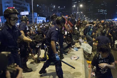 HONG KONG-CHINA-POLITICS-DEMOCRACY
