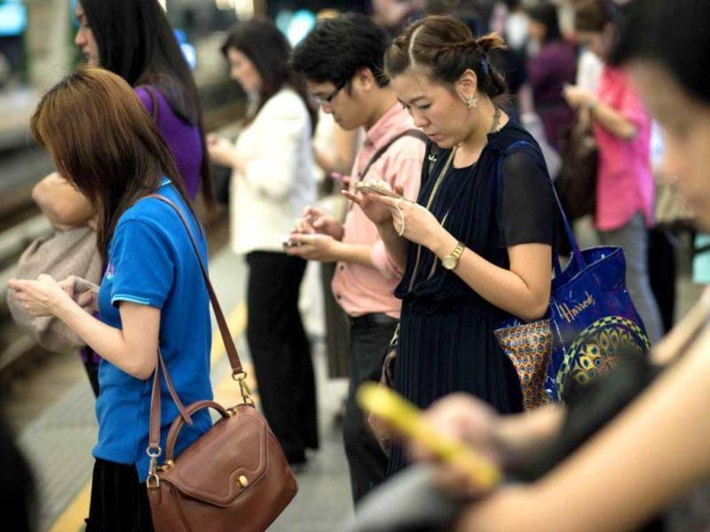 Xã Hội, Sức Khỏe, số hóa, smartphone, ô nhiễm,