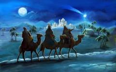 Các nhà thông thái đã đi theo vì sao, tìm đến nơi Chúa Hài Đồng sinh ra để tôn thờ Chúa và dâng quà tặng cho Ngài.