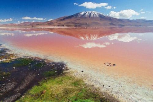 Ấn tượng hồ nước đỏ có một không hai thế giới - 11