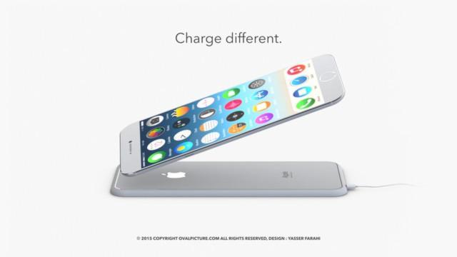 iPhone 7 sẽ có thêm chức năng sạc không dây.
