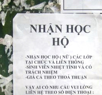 nhan hoc ho